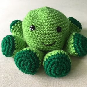 Other - Hand-crocheted Stuffed Octopus